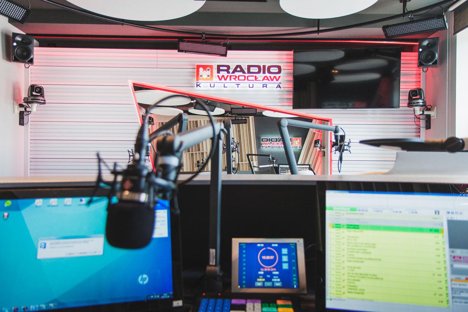 studio emisyjne Radio Wro Kultura 5